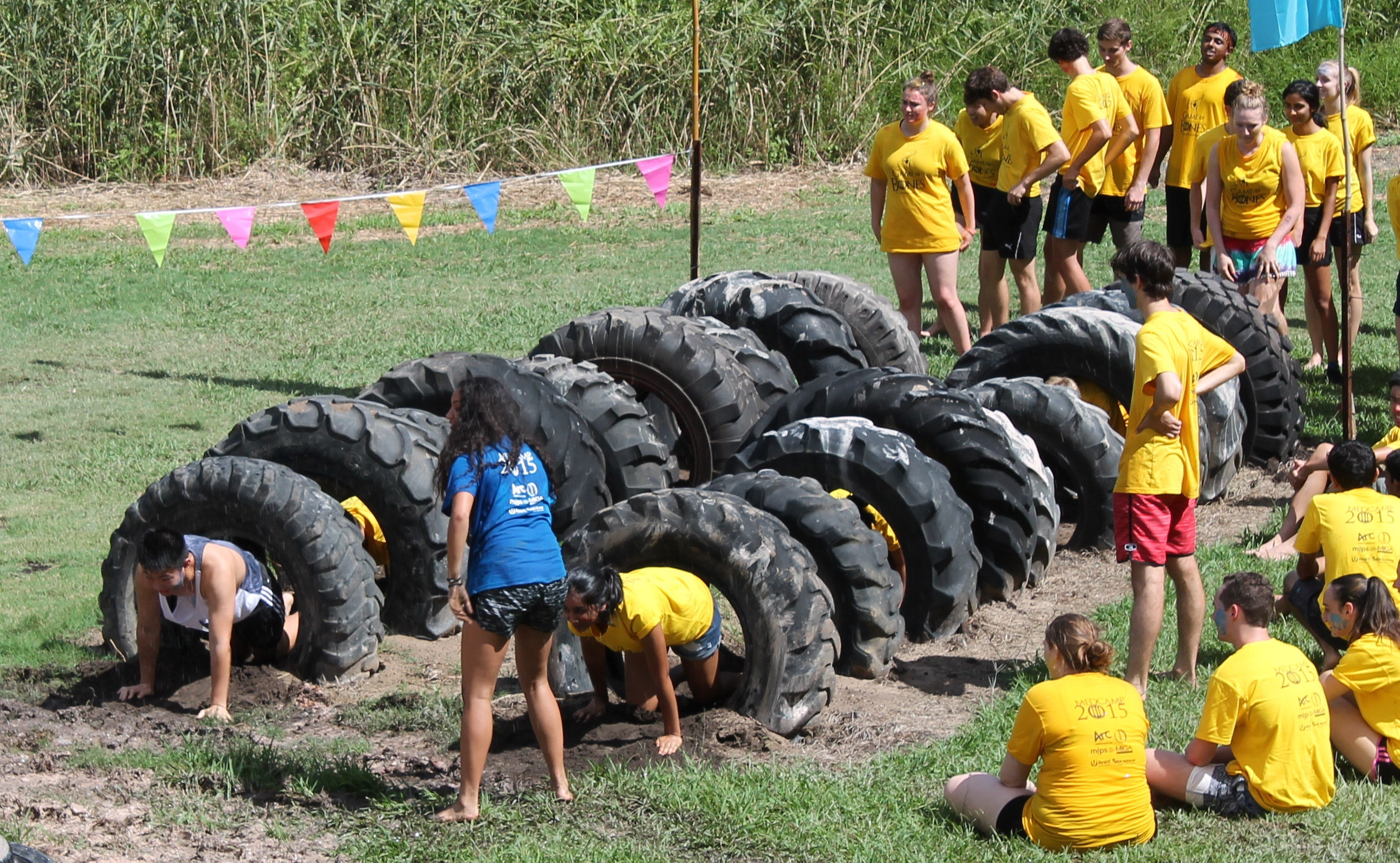 Giant Tyre Mud Mania Challenge